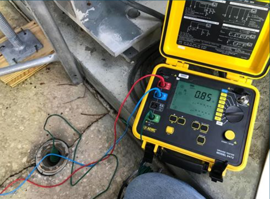 grounding system inspection
